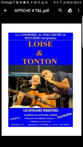 Louise & Tonton ....Les Estrasses Terrestres