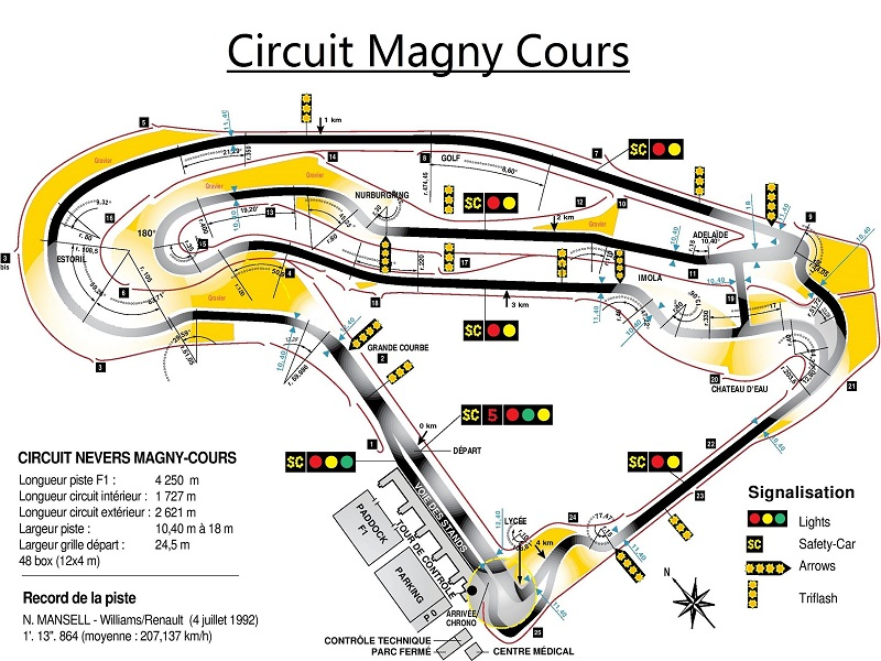 circuit magny cours f1 team18. Black Bedroom Furniture Sets. Home Design Ideas