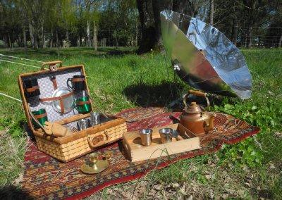 Set de picnic et four solaire pliable Sunplicity