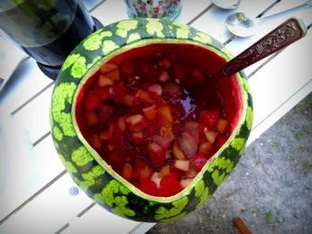 salade de fruit maison en attendant sous la chaleur de juin