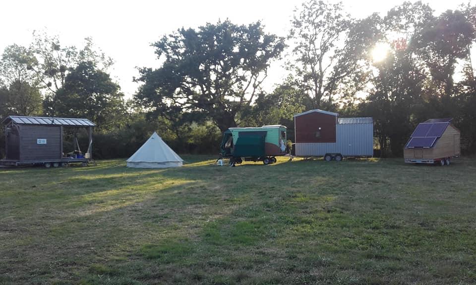 Le campement chez Eddy