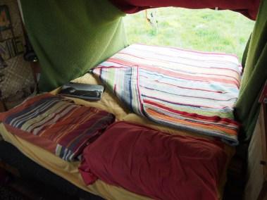 lit dépliant double place