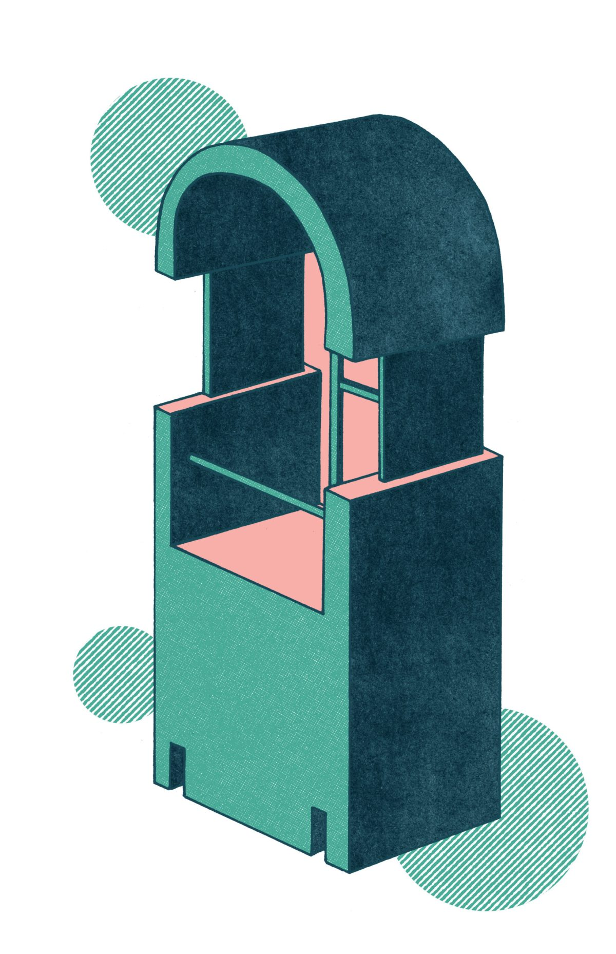 Illustration by Saman Sarheng for Round City