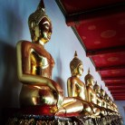 Budhas at Wat Pho, Bangkok