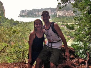 At the Railay lookout