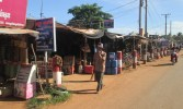 Roadside market in village outside Siem Reap