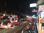 Main drag in Koh Samui - tons of motor bikes and people!
