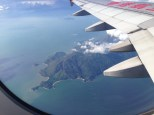 HK island flying in