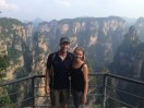 Zhangjiajie - it really does look like a more jagged, green Grand Canyon in spots