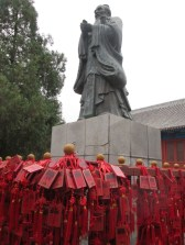 Confucius statue at the Emperial College