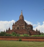 """The crown jewel"" of the Bagan temples - built towards the end of the peak of the civilization in the 13th century"