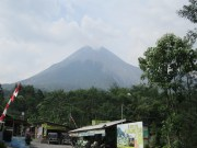 Volcano outside of Yogyakarta, Java. We visited the mountain village but didn't have time for the Jeep tour that takes you right up to it.