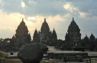 Prambanan, largest Hindu temple in SE Asia