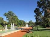 Rose garden park in Buenos Aires