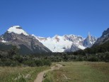 Approach to Cerro and Lake Torre