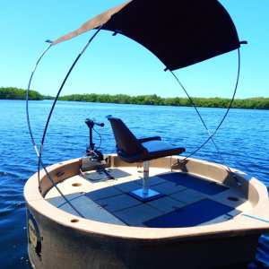 round boat canopy