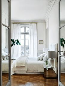 Beautiful bedrooms with white furniture (23)
