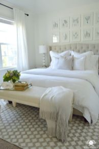 Beautiful bedrooms with white furniture (32)