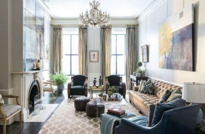 Best ideas luxurious and elegant living room design (23)