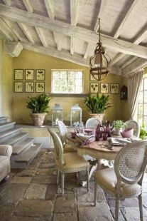 Charming and beautiful provence dining spaces (1)
