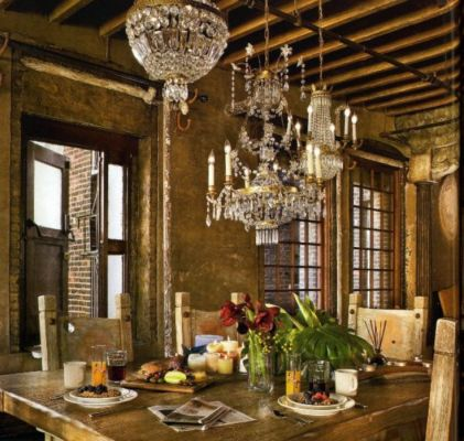Charming and beautiful provence dining spaces (12)