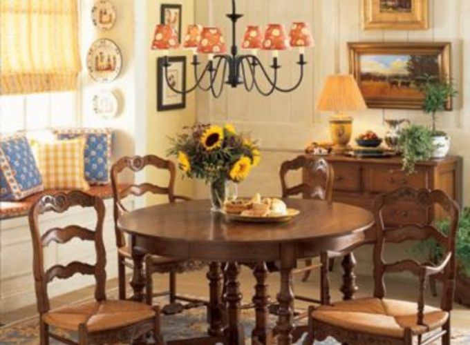Charming and beautiful provence dining spaces (25)