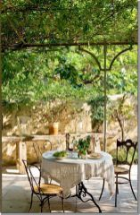 Charming and beautiful provence dining spaces (9)