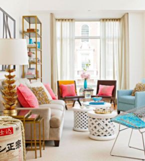Colorful and spring living room designs (16)