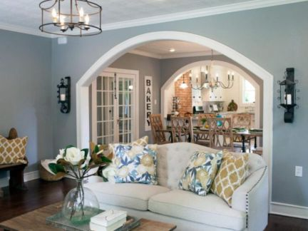 Colorful and spring living room designs (24)