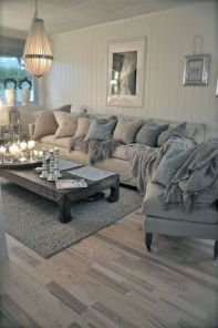 Cool brown and blue living room designs (7)