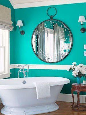 Cool ideas to use big mirrors in your bathroom (26)