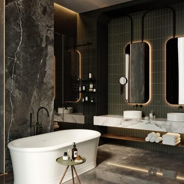 Dark Moody Bathroom Designs That Impress