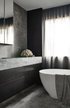Dark moody bathroom designs that impress (20)