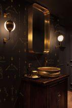 Dark moody bathroom designs that impress (3)