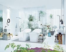 Delicate feminine bathroom design ideas (7)