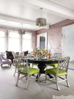 Elegant feminine dining room design ideas (25)