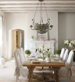 Elegant feminine dining room design ideas (26)