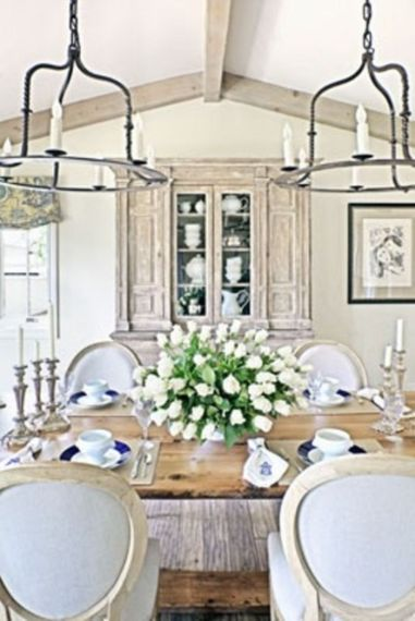 Elegant feminine dining room design ideas (3)