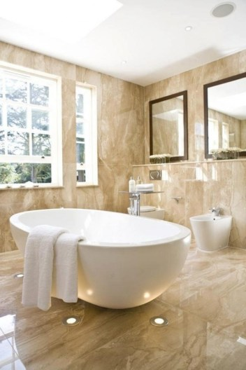 Luxurious marble bathroom designs (11)