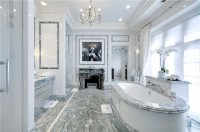 Luxurious marble bathroom designs (15)