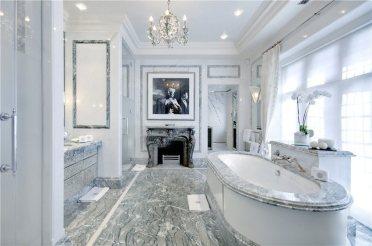 Luxurious marble bathroom designs (15)