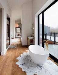 Luxurious marble bathroom designs (17)