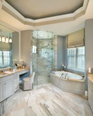 Luxurious marble bathroom designs (18)