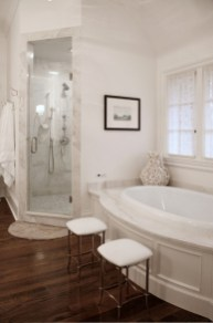 Luxurious marble bathroom designs (21)