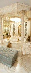 Luxurious marble bathroom designs (24)