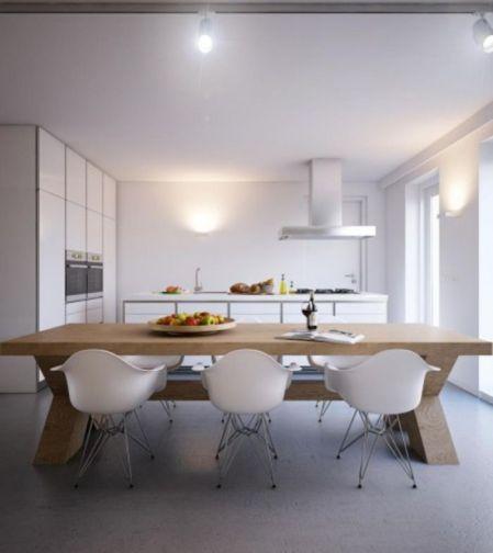 Simple but smart minimalist kitchen design (19)