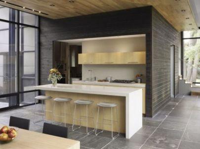 Simple but smart minimalist kitchen design (23)