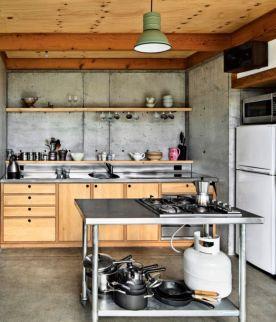 Simple but smart minimalist kitchen design (24)