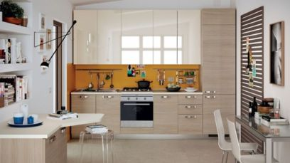 Simple but smart minimalist kitchen design (7)