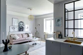 Simple but smart minimalist kitchen design (9)